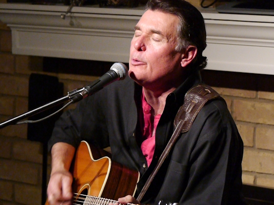 "Kenny Maines performs at a HubCityMusic.com CD release house concert for his new CD ""The Magic Train"" - 1/24/2014"